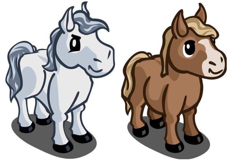 Lovely Farmville Horse #4: Play FarmVille HERE!