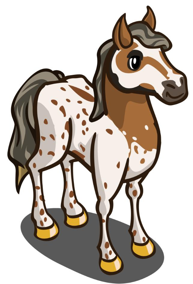Wonderful Farmville Horse #1: Play FarmVille HERE!
