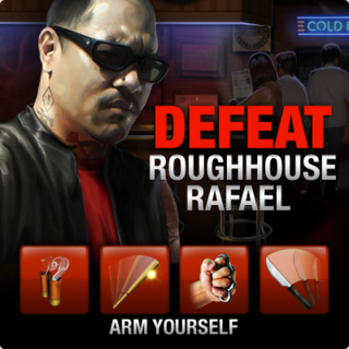 New Boss Fight Defeat Roughhouse Rafael