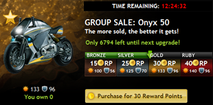 Group Sale Item: Onyx 50 (Gold tier)