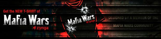 Get the NEW Mafia Wars t-shirt, designed by a fan!