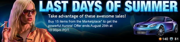 Last Days Of Summer Sale