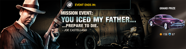 Mission Event: You Iced My Father...