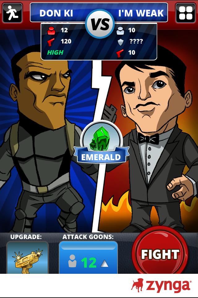 Mafia Wars Shakedown - Screenshot