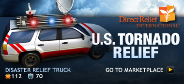 Southern U.S. Tornado Relief Fund Item: Disaster Relief Truck