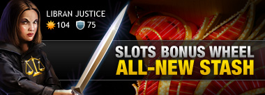 New Lucky Stash (Slots Bonus Wheel) Loot!