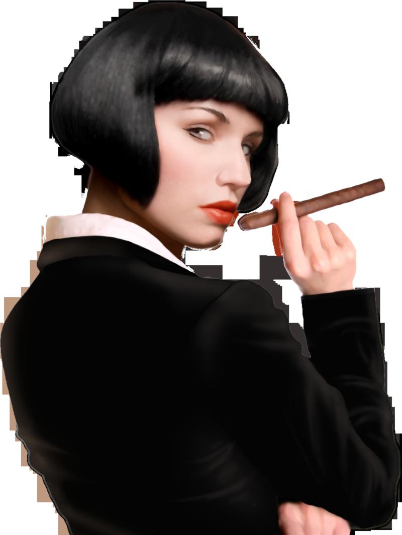 Mafia Wars - Woman with Cigar