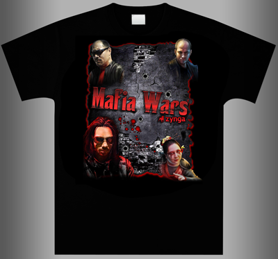 Mafia Wars T-Shirt Design Contest 2nd Place Winner