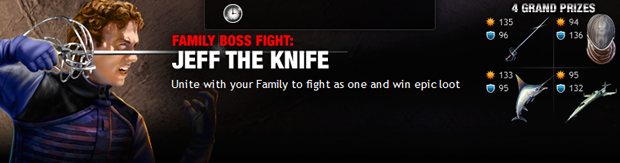 Family Boss Fight: Jeff The Knife