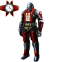 Red Wolf Exo Suit