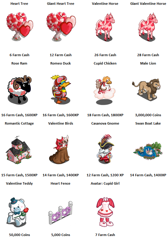 New Limited Edition Items and Valentine