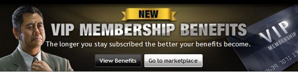 VIP Membership Banner