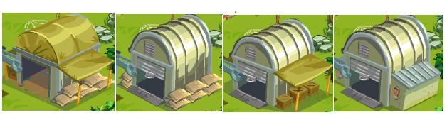 Storage stages