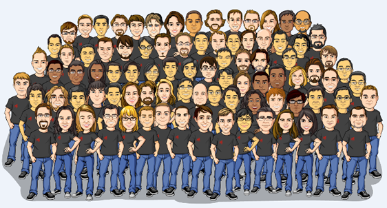 Zynga.com Team Portrait