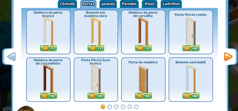 Portuguese Door Dialog