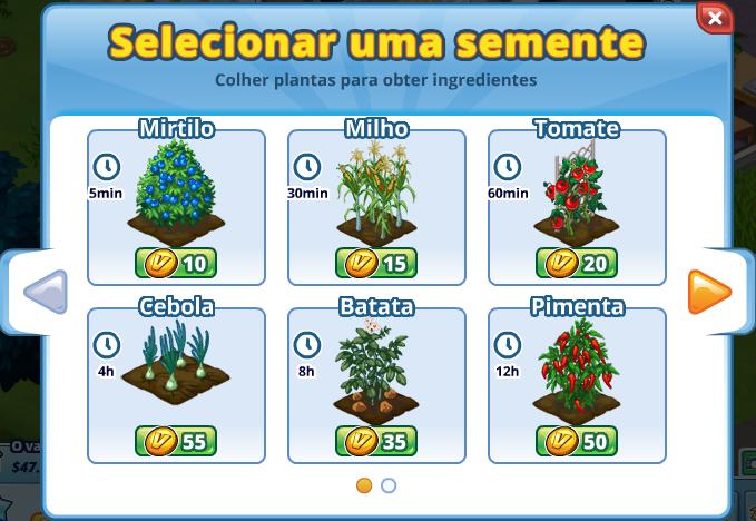 Portuguese Crop Dialog
