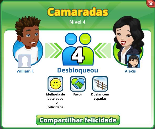 Portuguese Relationship Level up Dialog