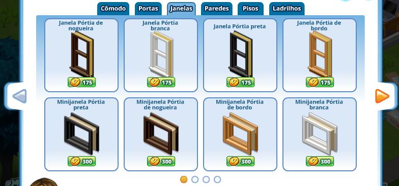 Portuguese Window Dialog