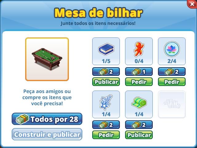 Portuguese Buildable Dialog