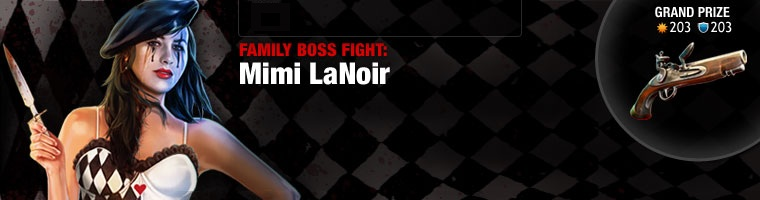 Family Boss Fight: Mimi La Noir