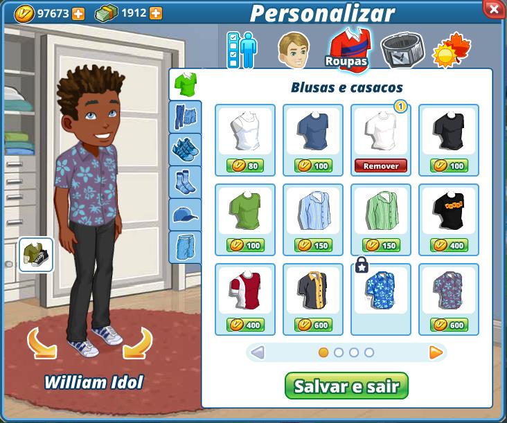 Portuguese Customization Dialog