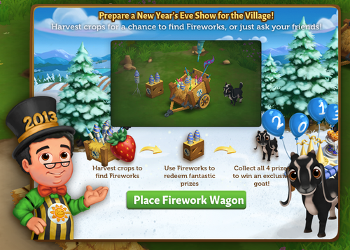 Fireworks Wagon - FarmVille 2