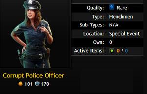 Corrupt Police Officer