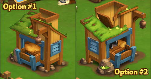 Goat Shelter - Options - FarmVille 2