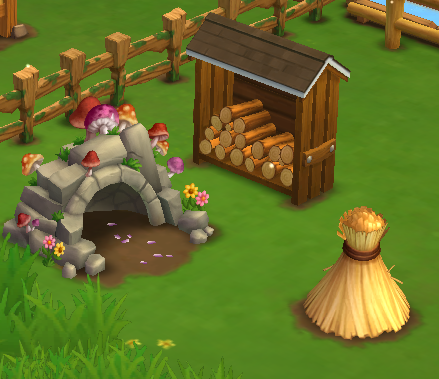 Shroom Shed - Stage 2 - FarmVille 2