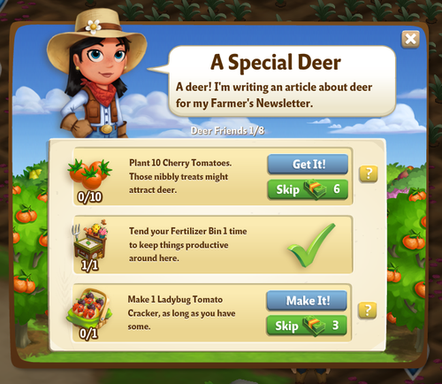 Wandering Deer - FarmVille 2