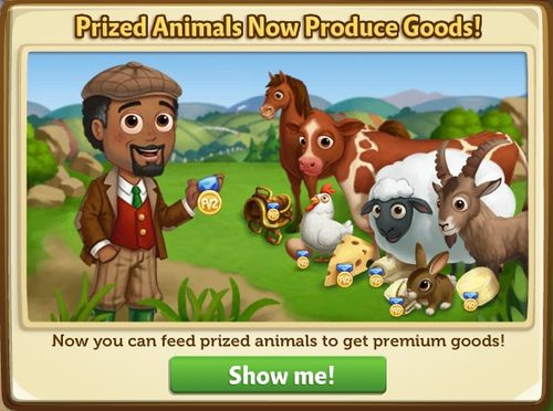 Prized Animal Pop-Up
