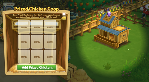 Main Menu Chicken Coop - FarmVille 2