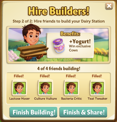 Yogurt Creamery - Finish - FarmVille 2