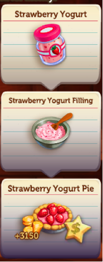 Yogurt Creamery - New Recipes - FarmVille 2