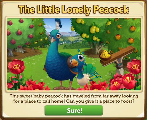 Peacock - FarmVille 2