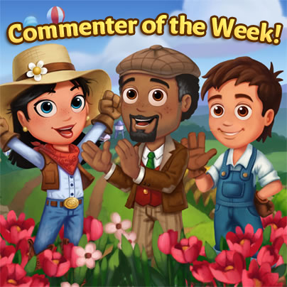 Commenter of the Week - FarmVille 2