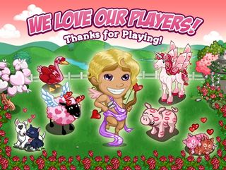 FarmVille Valentine's Card
