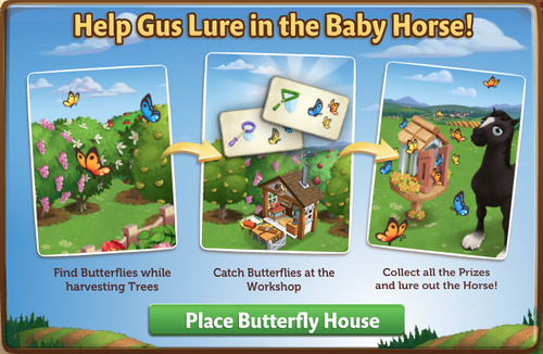 Butterfly House - FarmVille 2