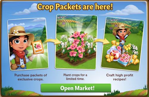 Crop Packets - FarmVille 2