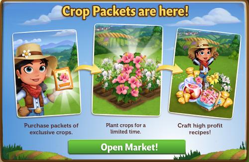Crop Packets - FarmVille 2