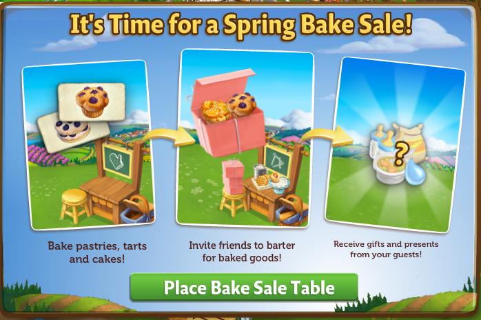 Spring Bake Sale - MOTD