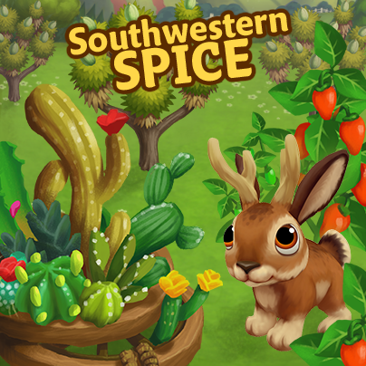 New Limited Edition Southwestern Spice Items! (FarmVille 2)
