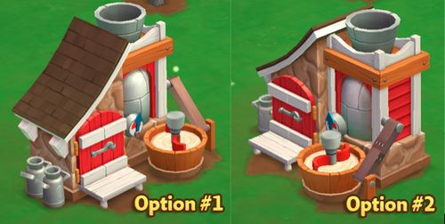Yogurt Creamery - Options - FarmVille 2