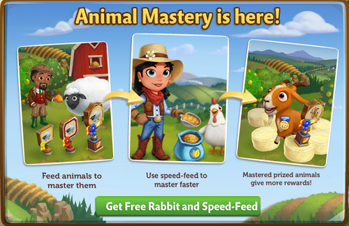Animal Mastery - FarmVille 2