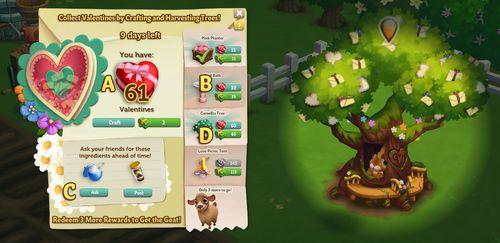 Sweetheart Tree - FarmVille 2
