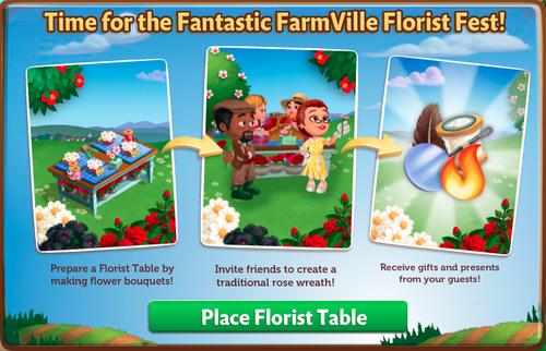 Florist Festival - FarmVille 2