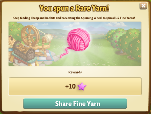 Spinning Wheel - FarmVille 2