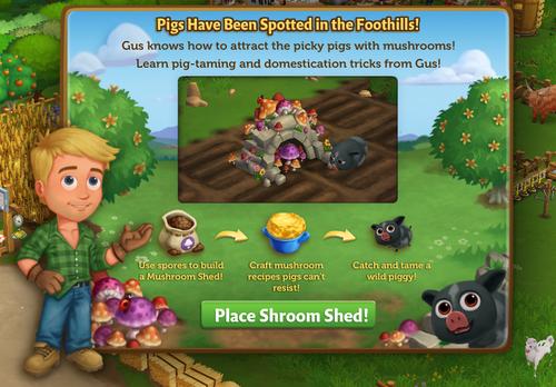 Shroom Shed - FarmVille 2