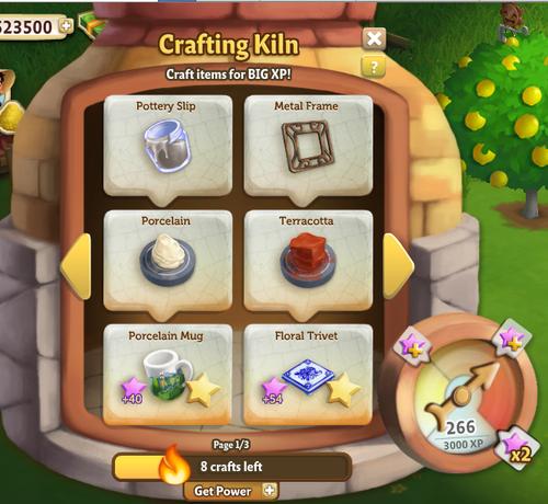 Kiln - FarmVille 2