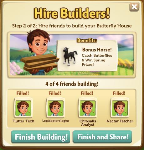 Butterfly House - FarmVille 2